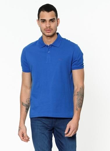 Lee Cooper Polo Yaka Tişört Mavi